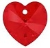 18mm Heart Pendant Light Siam