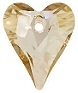 17mm Wild Heart Pendant Golden Shadow