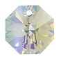 12mm Octagon Pendant Crystal AB