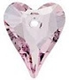 12mm Wild Heart Pendant Light Rose