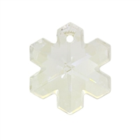 20mm Snowflake Pendant Crystal Moonlight