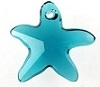 16mm Starfish Pendant Indicolite