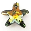16mm Starfish Pendant Tabac
