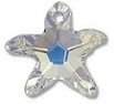 20mm Starfish Pendant Crystal Moonlight