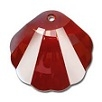 28mm Seashell Pendant Red Magma