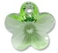 14mm Flower Pendant Peridot