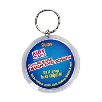 Acrylic Snap Key Chain