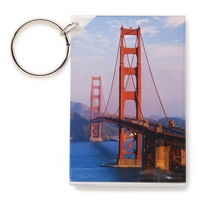 Acrylic Picture Frame Keychain