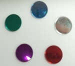 18mm Round Acrylic Mirror