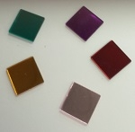 18mm Square Acrylic Mirror