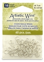Open Base Metal Chain Maille Jump Rings