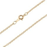 "18"" Cable Necklace Chain-BY THE GROSS"