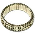 Cha Cha Expansion Bracelet Blank-3 ROW GOLD