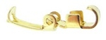 Fold-Over Clasp-10mm-GOLD