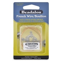 French Wire/Boullion- 0.8mm