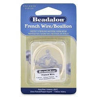 French Wire/Boullion- 0.9mm