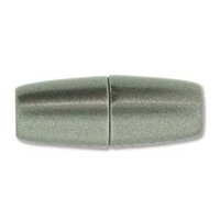 10 x 26mm Large Hole Magnetic Clasp-MATTE GRANITE
