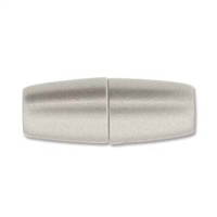 10 x 26mm Large Hole Magnetic Clasp- MATTE STAINLESS STEEL