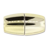 17 x 31mm Large Hole Magnetic Clasp-GOLD