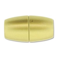 17 x 31mm Large Hole Magnetic Clasp-MATTE GOLD
