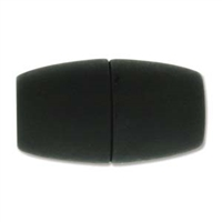 38 x 20mm Large Hole Magnetic Clasp-MATTE BLACK