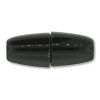 8.5 x 22mm Large Hole Magnetic Clasp- BLACK