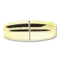 8.5 x 22mm Large Hole Magnetic Clasp- GOLD