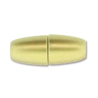 8.5 x 22mm Large Hole Magnetic Clasp- MATTE GOLD