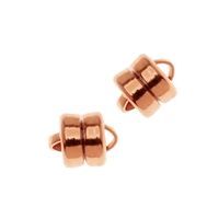 6mm Flat Plated Magnetic Clasp-COPPER