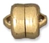 8mm Flat Plated Magnetic Clasp-GOLD