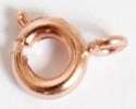 6mm Spring Ring Clasp-6mm-COPPER