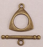 #3224 Toggle- Antique Gold Only