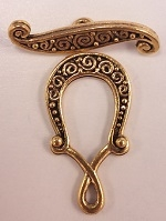 #3685 Toggle- Antique Gold Only