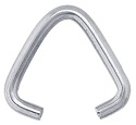 Base Metal Triangle Jump Rings