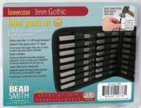 BeadSmith Letter Punch set