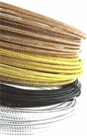 Round Embossed Aluminum Wire - 12 Gauge