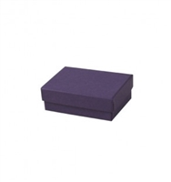 "#32 Purple Solid Top Jewelry Box- 3 1/8"" x 2 1/8"" x 1"""