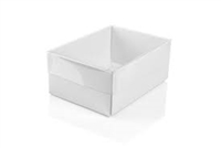 "#21V White Clear Top View-It - 2 1/2"" x 1 1/2"" x 7/8"""