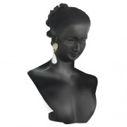 Display Bust - Full Head- Black
