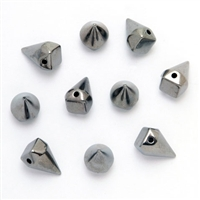 Acrylic Large Cone Spike Beads