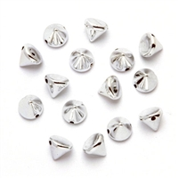 Acrylic Small Cone Spike Beads