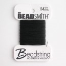 "BeadSmith "" No Stretch"" Nylon Beadstring"