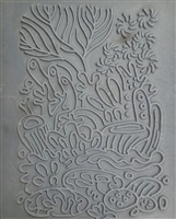 Christi Friesen Texture Stamp - Coral Reef #340