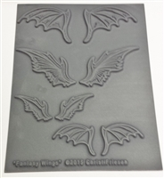 Christi Friesen Texture Stamp - Fantasy Wings #750