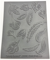 Christi Friesen Texture Stamp - Lovely Leaves #747