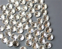Chinese Glass Clear Rhinestones-GLUE ON