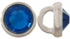 Crystaletts® with Swarovski-3mm- Capri Blue