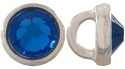 Crystaletts® with Swarovski-3mm- Capri Blue/Silver