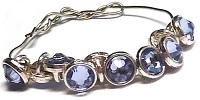 Crystaletts® with Swarovski-3mm- Provence Lavender/Silver