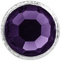 Crystaletts® with Swarovski-3mm- Purple Velvet/Silver